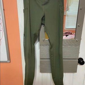 Green old navy leggings! Medium!